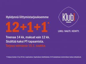 Klub1 banneri tammikuu
