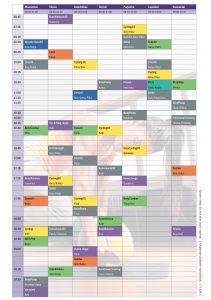 Ryhmäliikuntakalenteri
